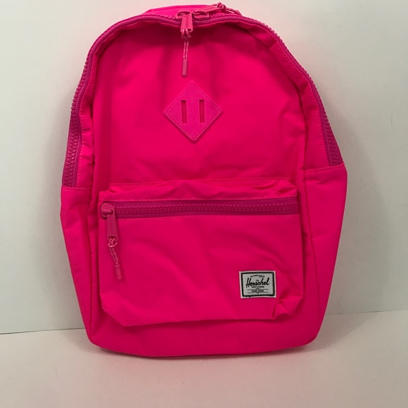 23b0b54926b1 NWT Herschel Youth Size Heritage Backpack In Neon. NWT. Herschel Supply  Company